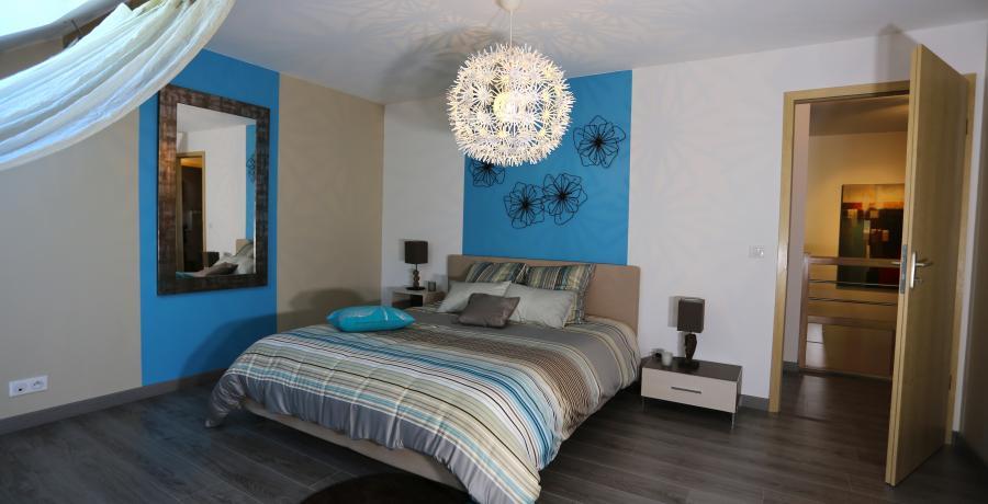 programme immobilier neuf à vétraz-monthoux : les carrés v duplex-jardin chambre
