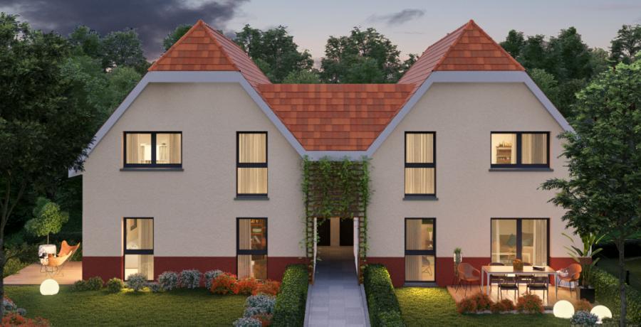 Appartement neuf Duplex-Jardin à Boersch