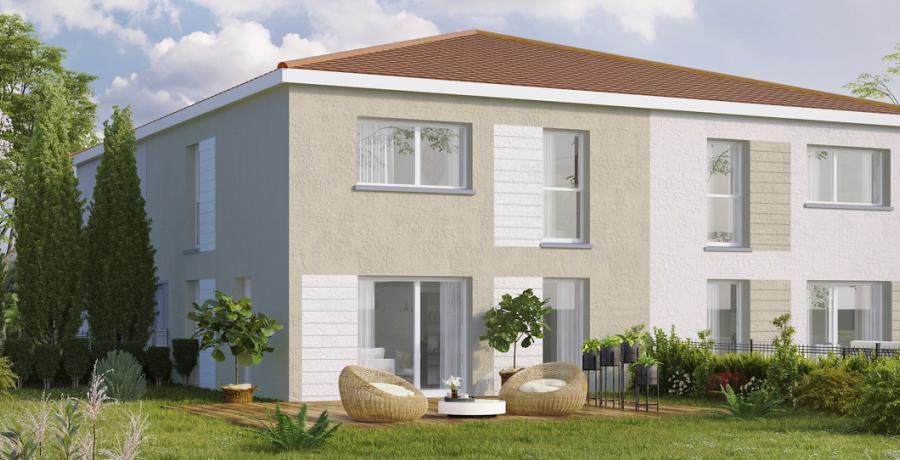 Appartement neuf Duplex-Jardin à Labastidette