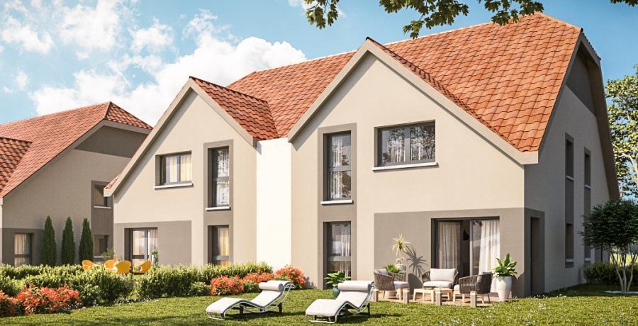 Appartement neuf Duplex-Jardin à Meistratzheim