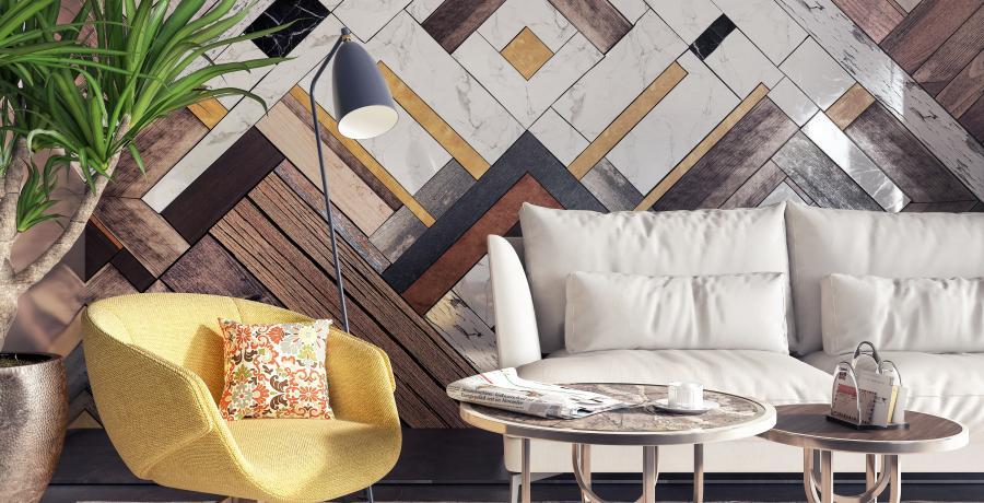 tapisserie ou peinture salon