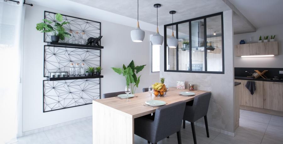 amenagement cuisine duplex astuces tendances industriel