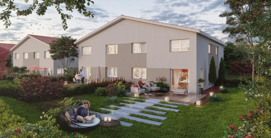Appartement neuf Duplex-Jardin à Pontarlier