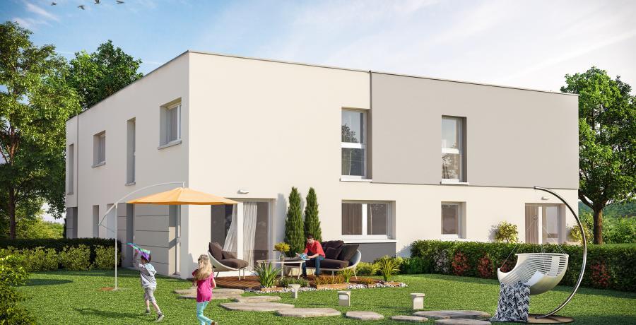 Appartement neuf Duplex-Jardin à Hangenbieten