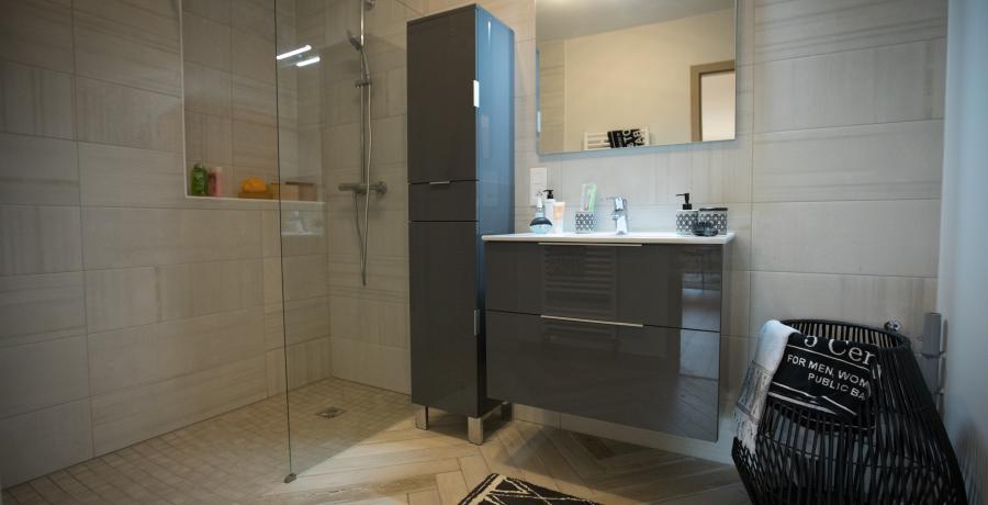 programme immobilier neuf à pontarlier : les carrés ariolica, duplex-jardin salle de bains