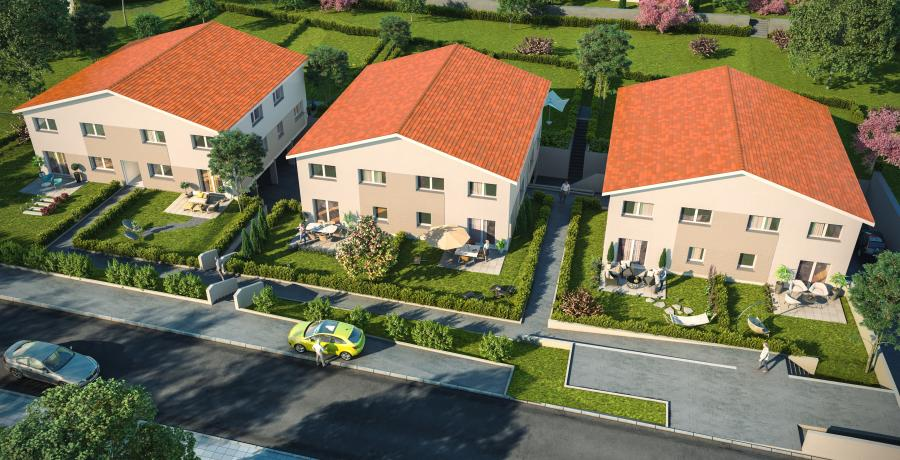 Maison neuve Duplex-Jardin à Pontarlier
