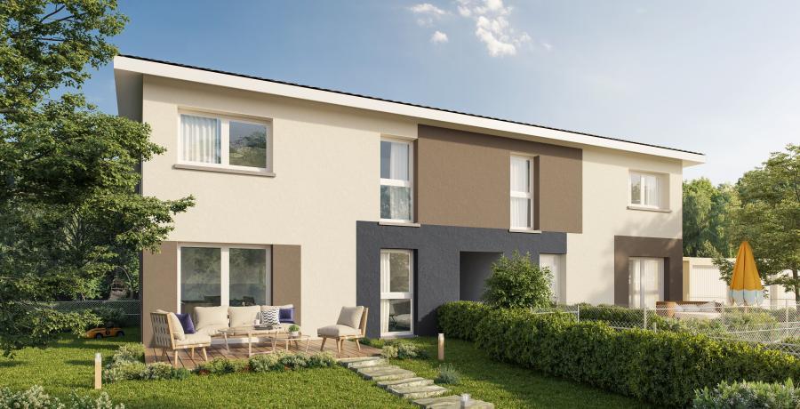Appartement neuf Duplex-Jardin à Schirrhoffen