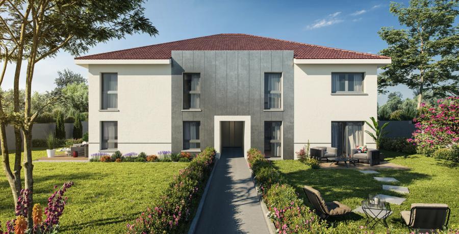 maison neuve duplex à mondouzil : les carrés d'autan