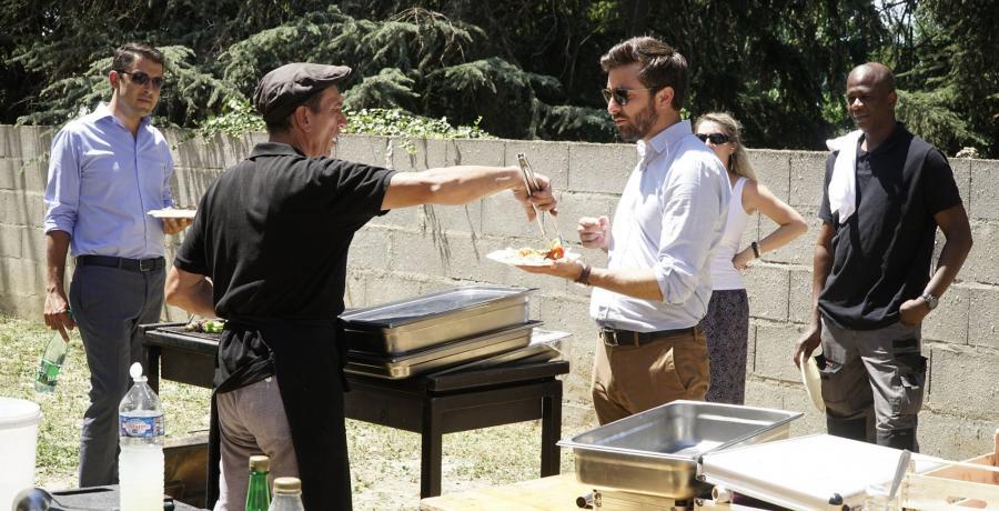 portes ouvertes 20 ans groupe vivialys barbecue