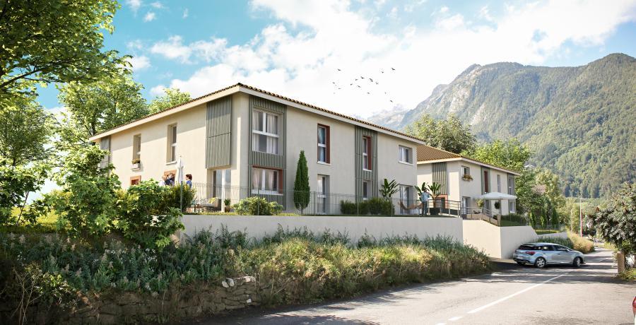 Appartement neuf Duplex-Jardin à Thônes
