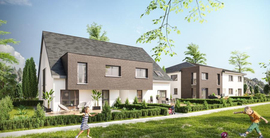 Appartement neuf Duplex-Jardin à Ergersheim