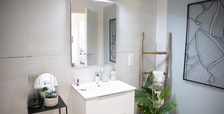 appartement cles en main salle de bains