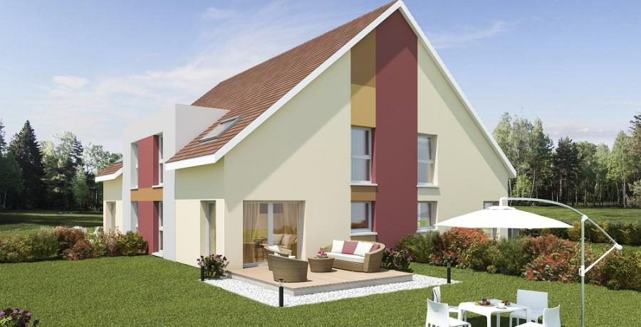 Appartement neuf Duplex-Jardin à Hagenthal le Bas