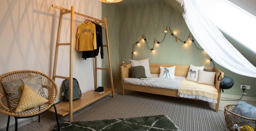 programme immobilier neuf à rouffach : les carrés 20 duplex-jardin chambre d'enfants