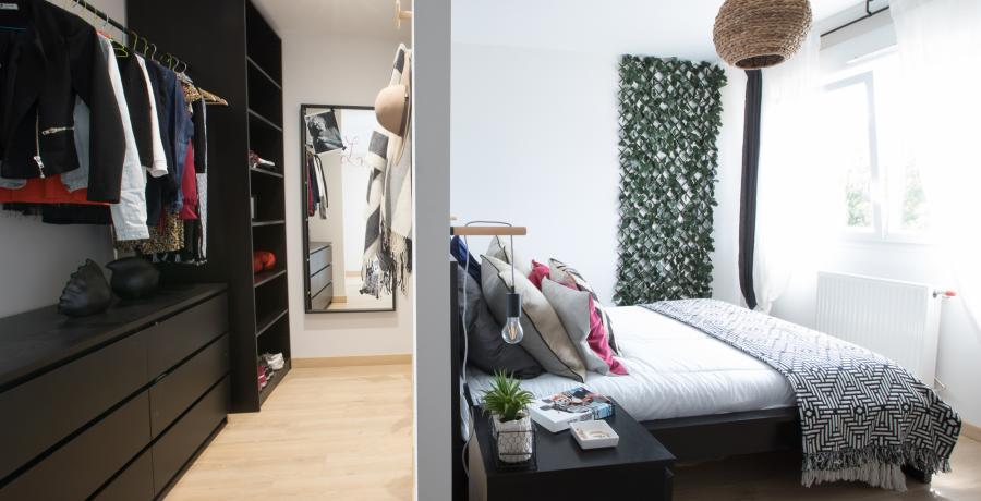 programme immobilier neuf à rouffach : les carrés 20 duplex-jardin chambre