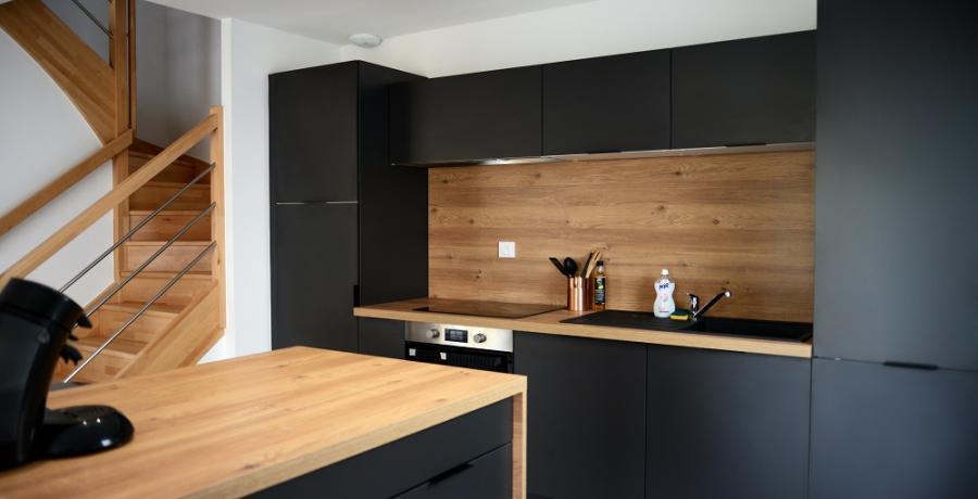 programme immobilier neuf à messigny et vantoux : les carrés d'arvaut duplex-jardin cuisine