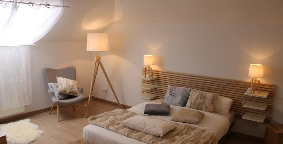 programme immobilier neuf à mamirolle : les carrés d'or duplex-jardin chambre