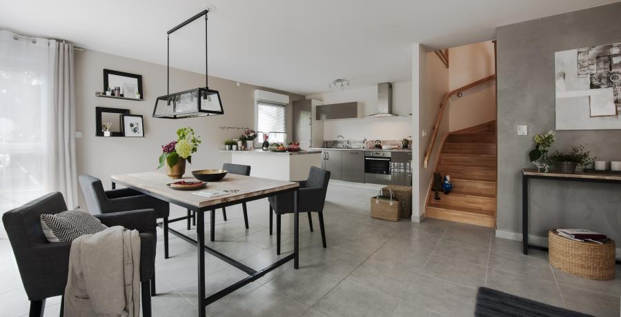 programme immobilier neuf à hagenthal-le-bas: les carrés du bosquet duplex-jardin séjour