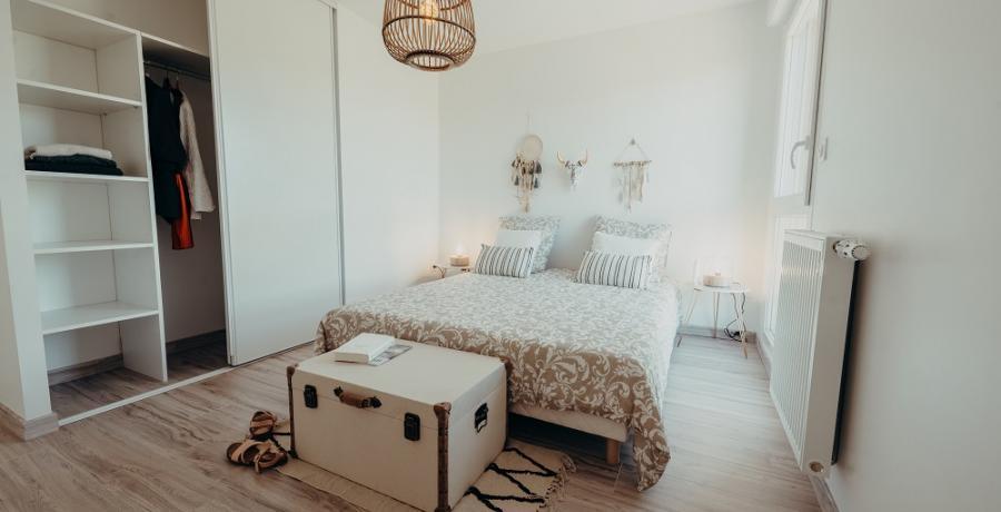 programme immobilier neuf à labastidette : les carrés horizon, duplex-jardin chambre