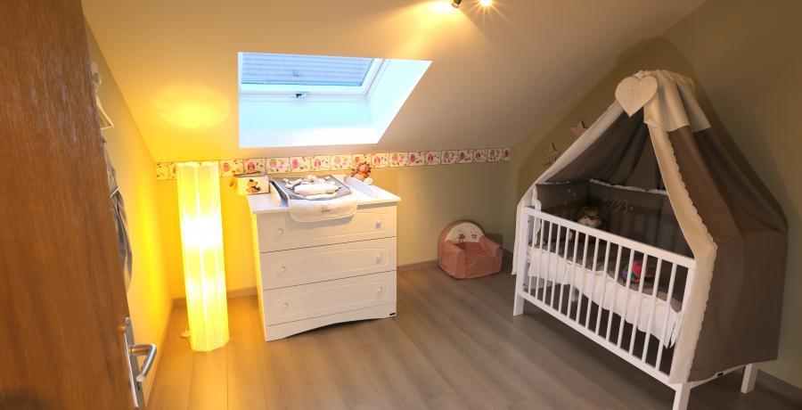programme immobilier neuf à vovray-en-bornes : les carrés horizon duplex-jardin chambre d'enfants
