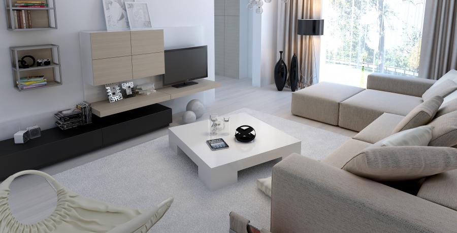 programme immobilier neuf à vovray-en-bornes : les carrés horizon duplex-jardin salon
