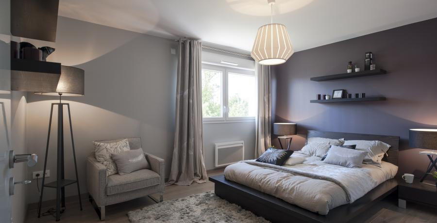 programme immobilier neuf à rosenau : les carrés isola duplex-jardin chambre
