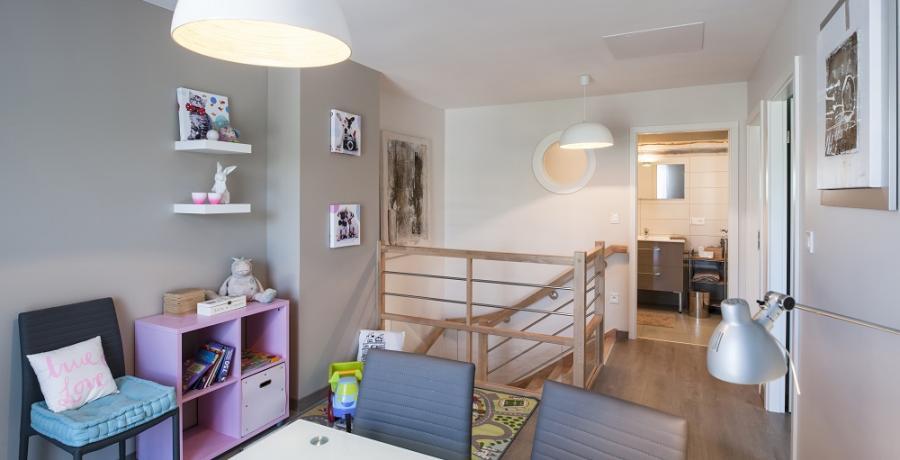 programme immobilier neuf à rosenau : les carrés isola duplex-jardin étage