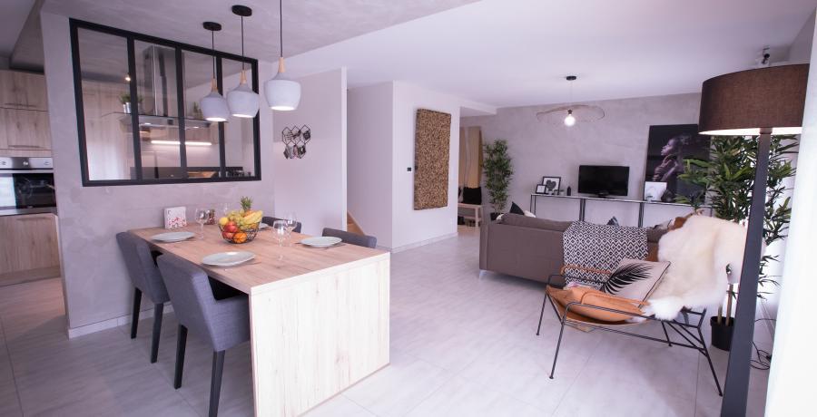 programme immobilier neuf à rosenau : les carrés isola duplex-jardin séjour