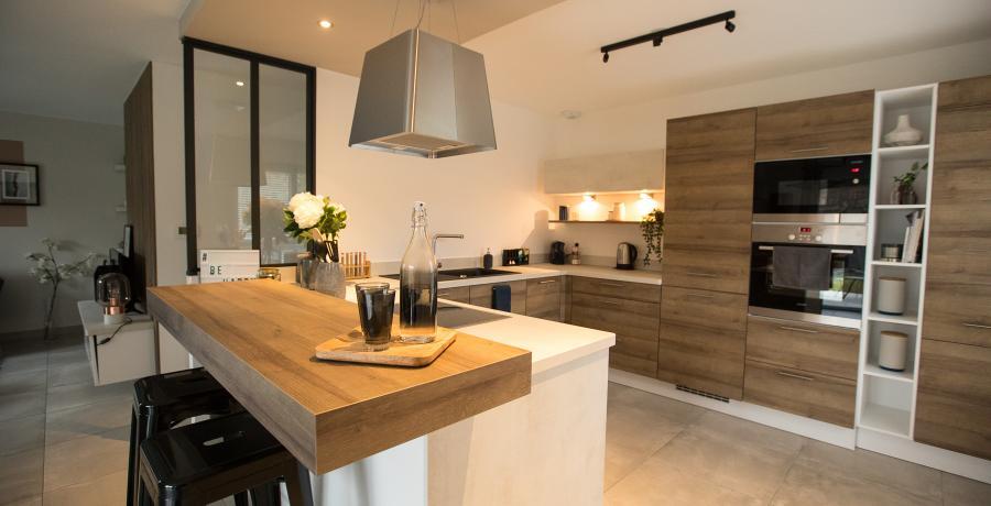 programme immobilier neuf à geispolsheim : carrés eternit'y, duplex-jardin cuisine