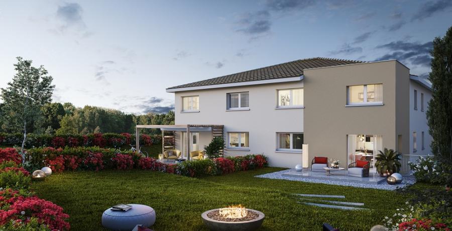 Appartement neuf Duplex-Jardin à Cernay