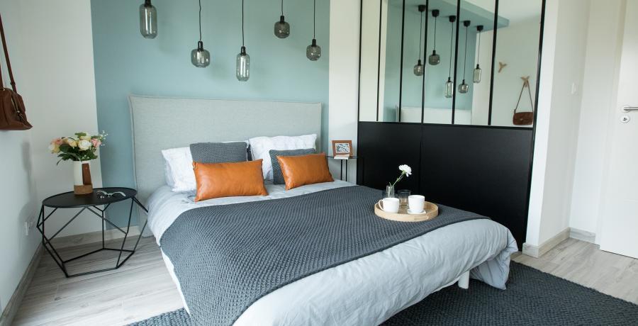 programme immobilier neuf à hangenbieten : BoCarré, duplex-jardin chambre
