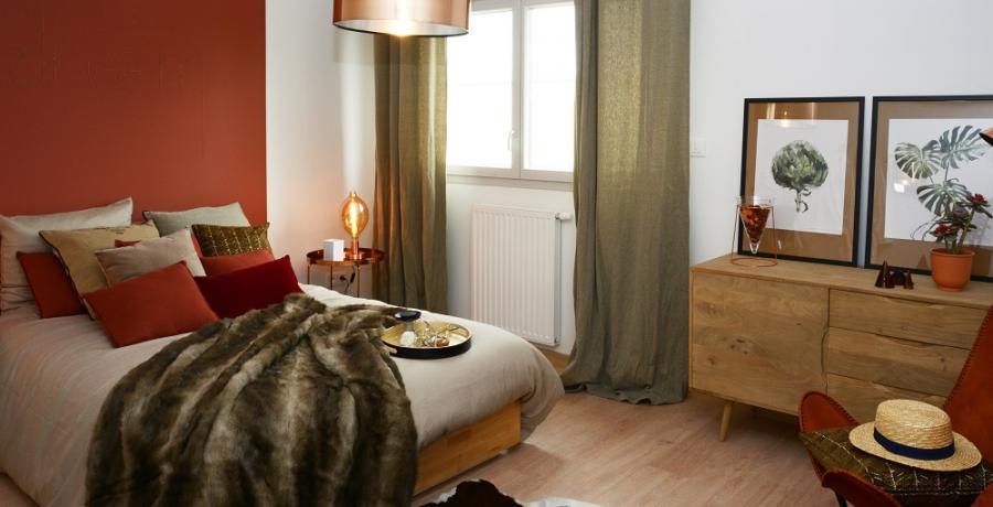 programme immobilier neuf à franois : les carrés constellation, duplex-jardin chambre