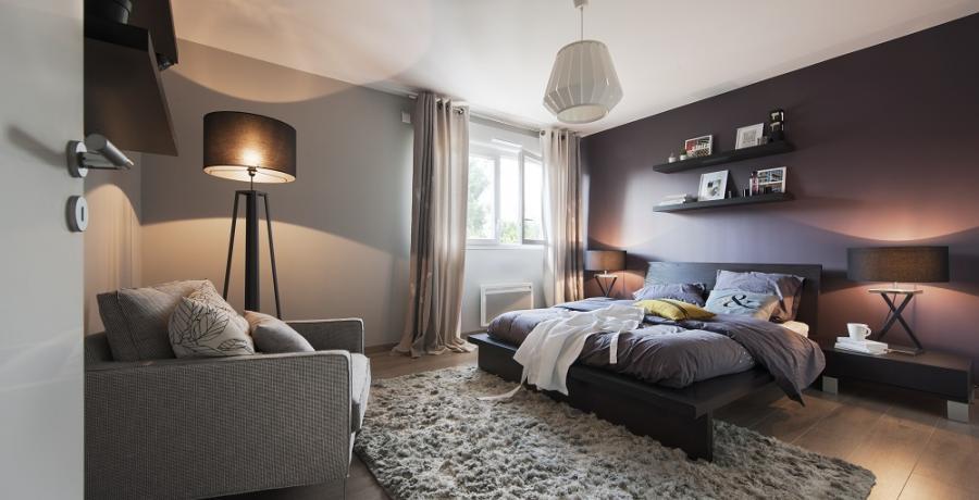 programme immobilier neuf à uffheim: les carrés cottage, duplex-jardin chambre