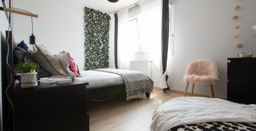 programme immobilier neuf à Innenheim : les carrés culture, duplex-jardin chambre