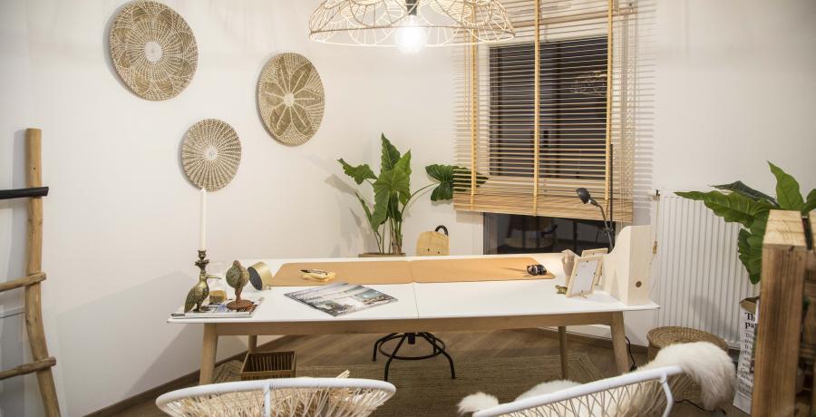 programme immobilier neuf à soultz-haut-rhin : les carrés de soie, duplex-jardin bureau