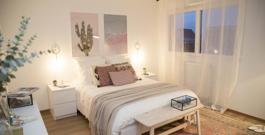 programme immobilier neuf à soultz-haut-rhin : les carrés de soie, duplex-jardin chambre