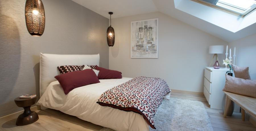 programmes immobiliers neufs à chambery  : les carres des monts duplex jardin chambre