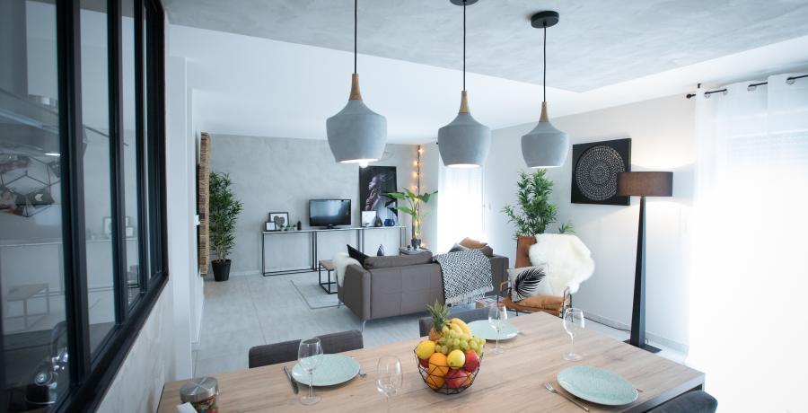 programme immobilier neuf à biesheim: les carrés rosalia, duplex-jardin séjour