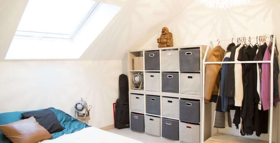 appartement duplex témoin à Wittenheim - chambre amis
