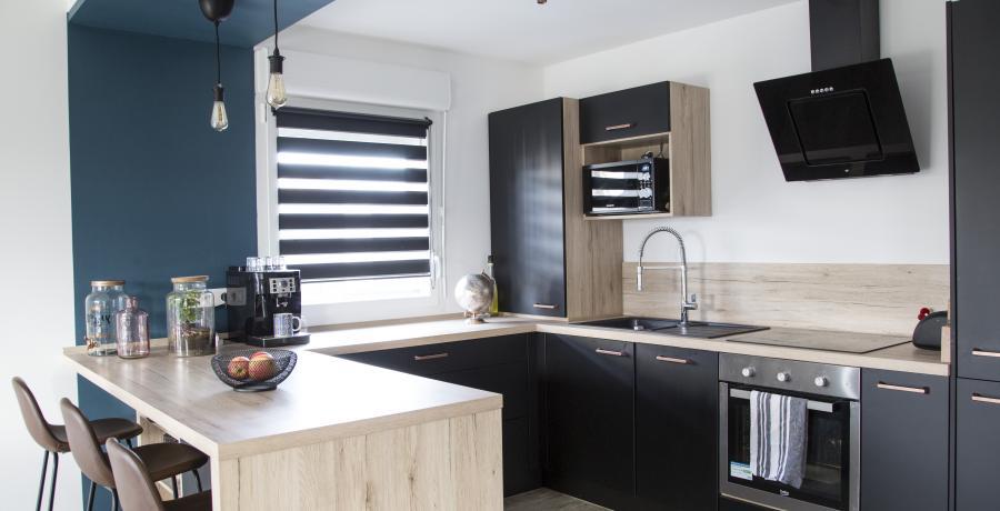 appartement duplex témoin à Wittenheim - cuisine