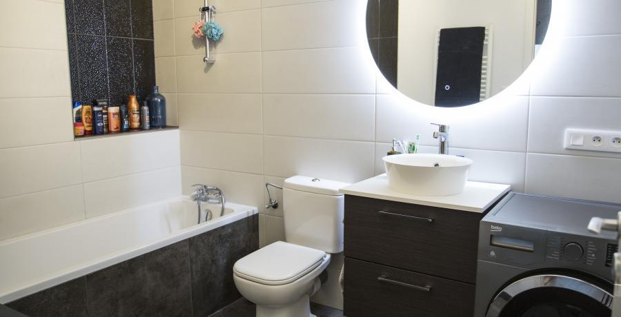 appartement duplex témoin à Wittenheim - salle de bain