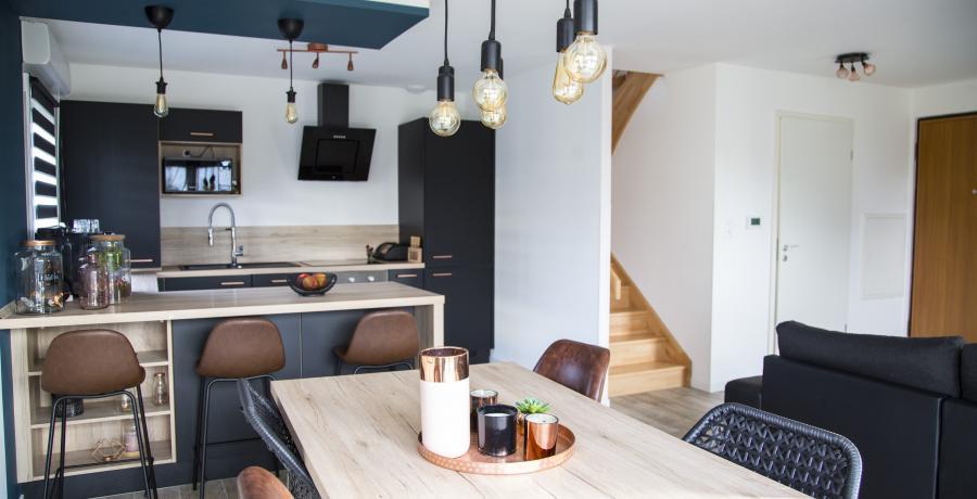 appartement duplex témoin à Wittenheim - sejour