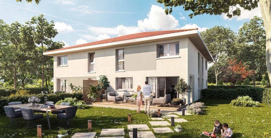Appartement neuf Duplex-Jardin à Chens-sur-Léman