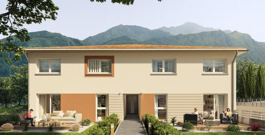Appartement neuf Duplex-Jardin à Marnaz
