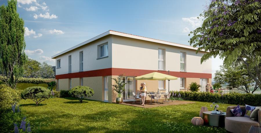 Appartement neuf Duplex-Jardin à Muret