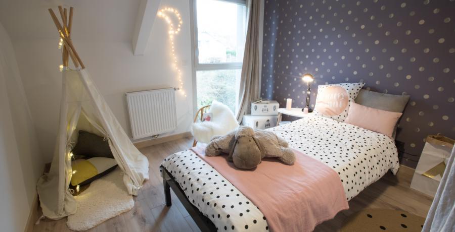 programme immobilier neuf à Grésy-sur-Aix : les carrés du Revard, duplex-jardin chambre d'enfant