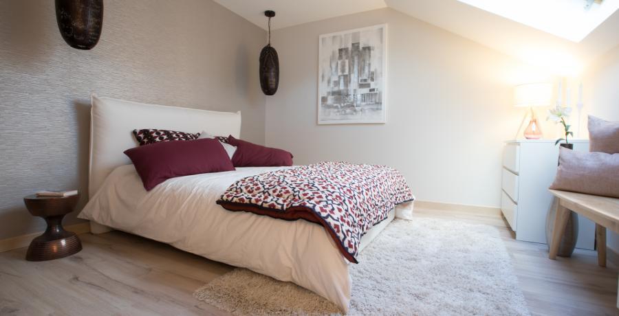 programme immobilier neuf à Grésy-sur-Aix : les carrés du Revard, duplex-jardin chambre