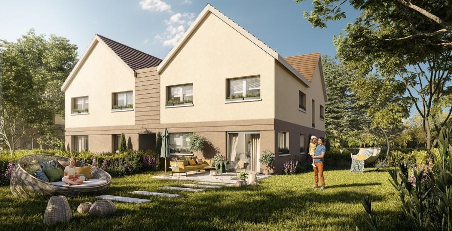 Appartement neuf Duplex-Jardin à Cessey-sur-tille