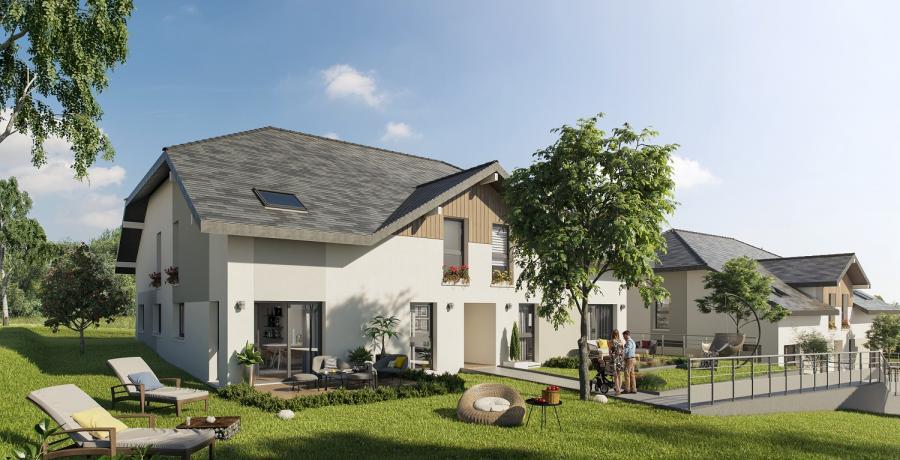 Appartement neuf Duplex-Jardin à Grésy-sur-Aix