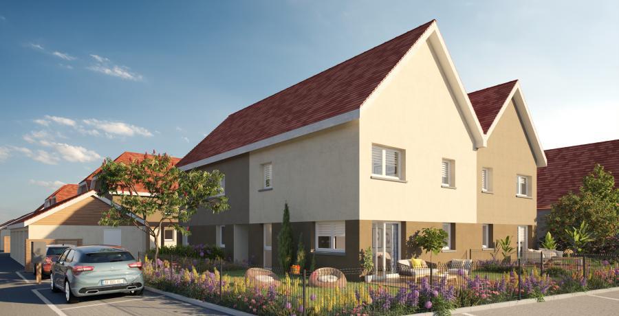 Appartement neuf Duplex-Jardin à Rouffach